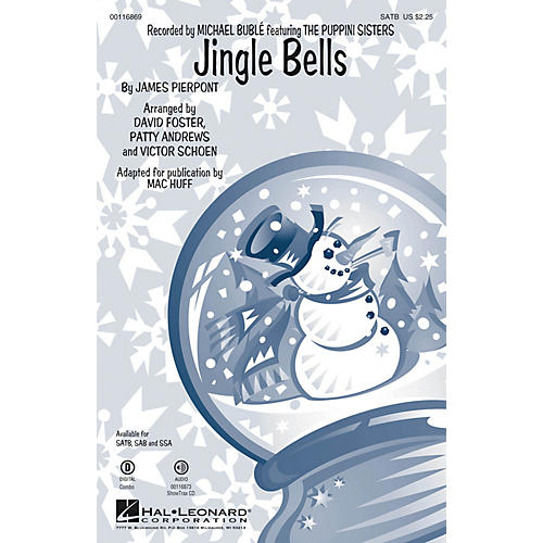 Hal Leonard Jingle Bells ShowTrax CD by Michael Bublé Arranged by Mac Huff