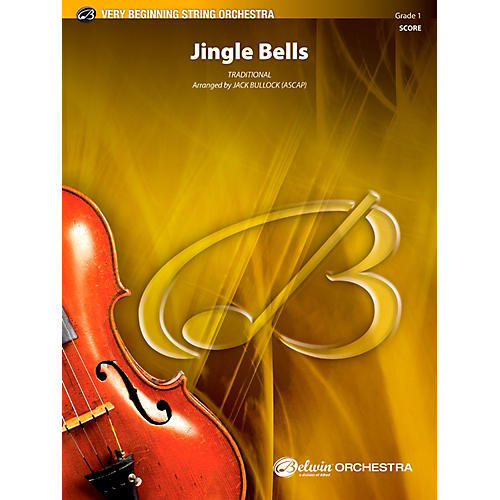 Alfred Jingle Bells String Orchestra Grade 1 Set
