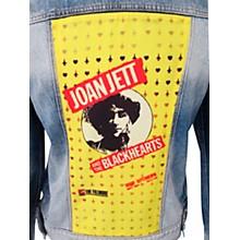 Dragonfly Clothing Joan Jett & The Blackhearts - The Fillmore - Spades & Clovers - Womens Denim Jacket