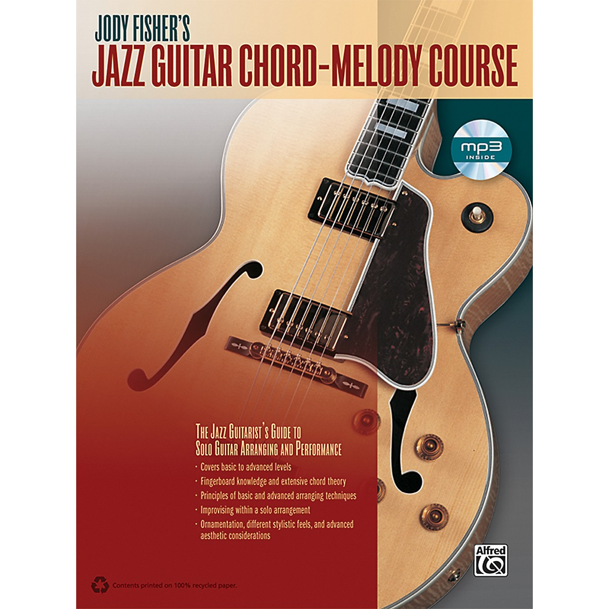 Alfred Jody Fisher's Jazz Guitar Chord-Melody Course (Book/CD)