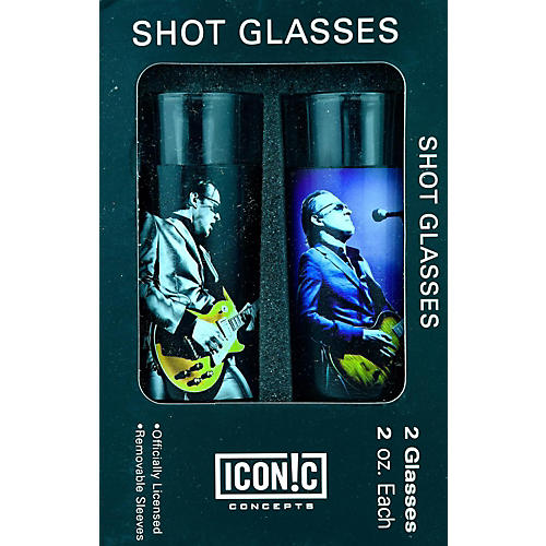 Axe Heaven Joe Bonamassa 2-Piece Shot Glass Set - Lithos Collection 1