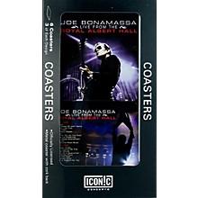 Iconic Concepts Joe Bonamassa 6 piece Coaster Set - Royal Albert Hall in Tin Box