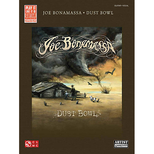 Hal Leonard Joe Bonamassa Dust Bowl Guitar Tab Songbook