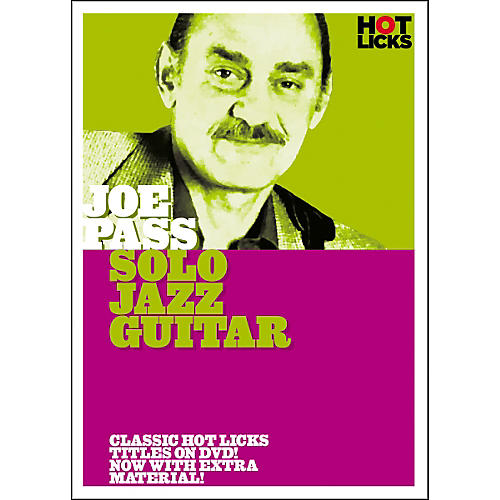 Hot Licks Joe Pass: Solo Jazz Guitar DVD