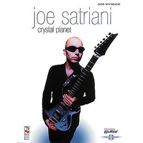 Hal Leonard Joe Satriani Crystal Planet Guitar Tab Songbook