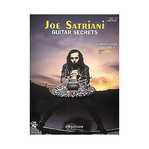Hal Leonard Joe Satriani Guitar Secrets Book
