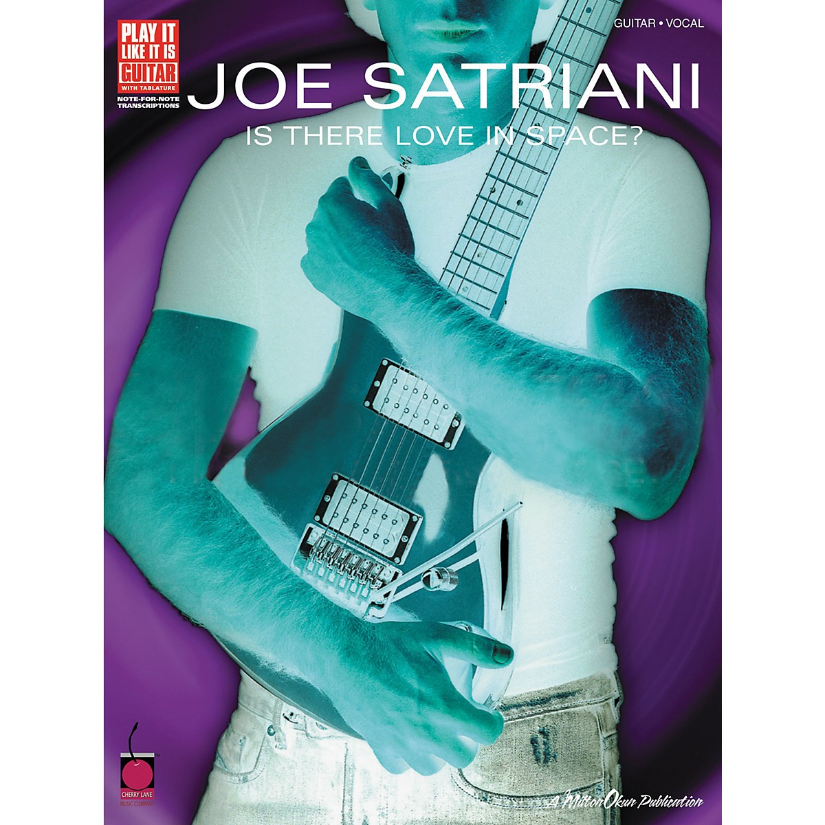 Cherry Lane Joe Satriani Is There Love in Space? Guitar Tab Songbook