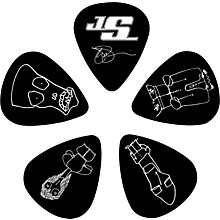 D'Addario Planet Waves Joe Satriani Signature Guitar Picks 10-Pack