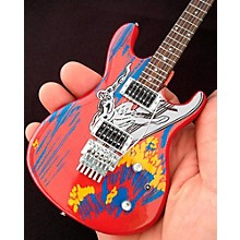 Axe Heaven Joe Satriani Silver Surfer Miniature Guitar Replica Collectible