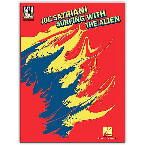Hal Leonard Joe Satriani Surfing with The Alien Guitar Tab Songbook