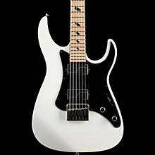 Caparison Guitars Joel Stroetzel Signature Black Electric Guitar Classic White