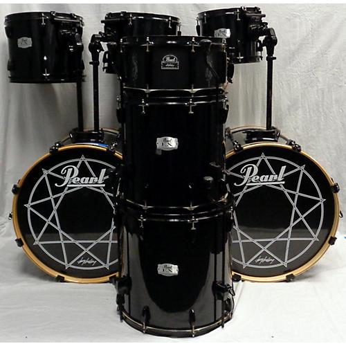 used pearl joey jordison export double bass drum kit guitar center. Black Bedroom Furniture Sets. Home Design Ideas