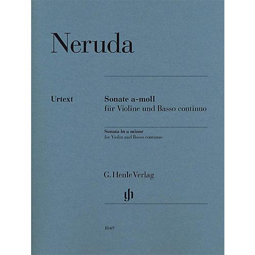 G. Henle Verlag Johann Baptist Georg Neruda - Sonata in A min for Violin and Basso Continuo Henle Music Edited by Gerlach