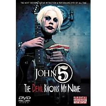 Hal Leonard John 5 - The Devil Knows My Name DVD