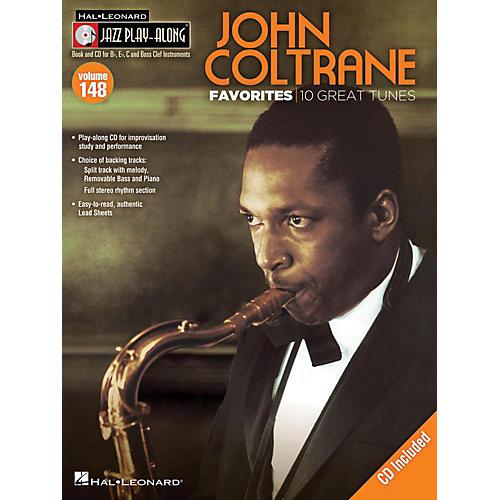 Hal Leonard John Coltrane Favorites - Jazz Play-Along Volume 148 Book/CD