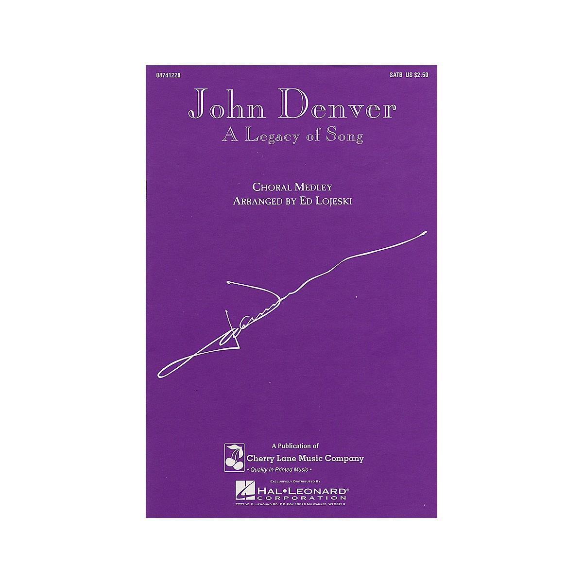 Cherry Lane John Denver - A Legacy of Song (Medley) SATB by John Denver arranged by Ed Lojeski