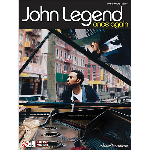 Cherry Lane John Legend Once Again arranged for piano, vocal, and guitar (P/V/G)