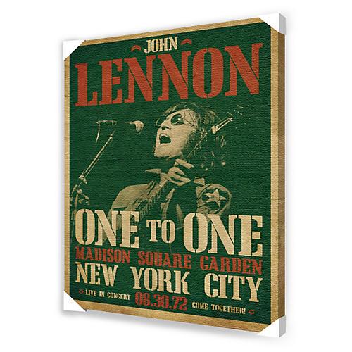 Ace Framing John Lennon Concert Framed Artwork