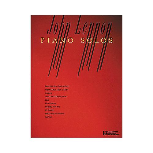 Hal Leonard John Lennon Piano Solos
