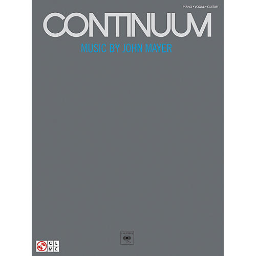 Hal Leonard John Mayer Continuum Piano, Vocal, Guitar Songbook