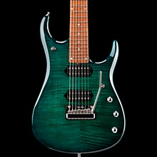 Ernie Ball Music Man John Petrucci JP15 7-String Flame Maple Top Electric Guitar Teal