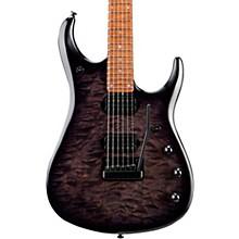 John Petrucci JP15 Quilt Maple Top Electric Guitar Transparent Black