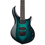 Ernie Ball Music Man John Petrucci Majesty 6 Black Hardware Electric Guitar Enchanted Forest