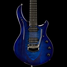 Ernie Ball Music Man John Petrucci Monarchy Majesty Electric Guitar Imperial Blue