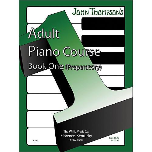Willis Music John Thompson's Adult Piano Course Book One Preparatory