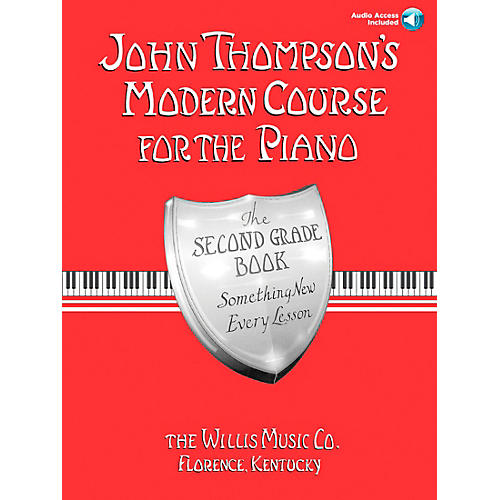 Willis Music John Thompson's Modern Course for Piano Grade 2 Book/Online Audio
