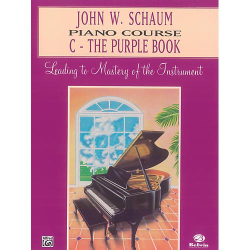 Alfred John W. Schaum Piano Course C The Purple Book C The Purple Book
