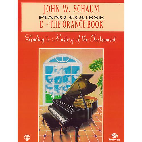 Alfred John W. Schaum Piano Course D The Orange Book