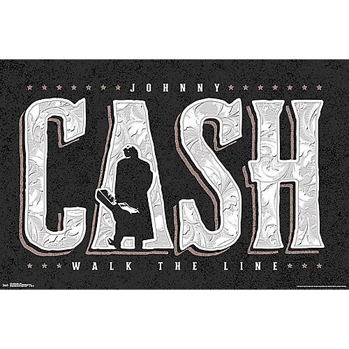 Trends International Johnny Cash - Walk the Line Poster