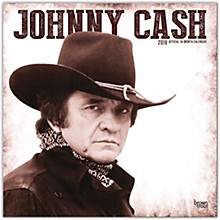 Browntrout Publishing Johnny Cash 2018 Wall Calendar