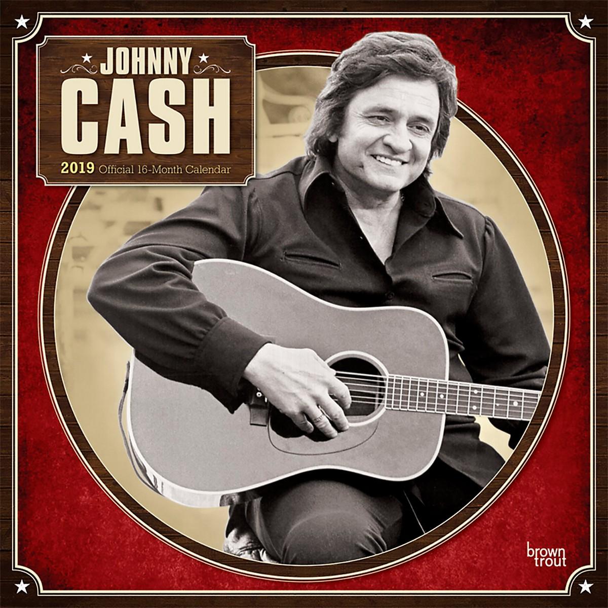 Browntrout Publishing Johnny Cash 2019 Calendar