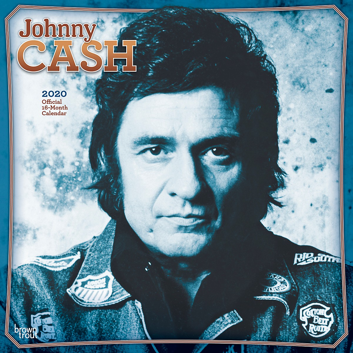 Browntrout Publishing Johnny Cash 2020 Calendar