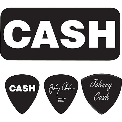 Dunlop Johnny Cash Bold Pick Tin with 6 Picks