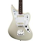 Fender Johnny Marr Jaguar Electric Guitar Olympic White Rosewood Fingerboard