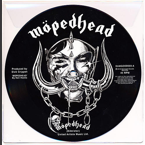 Alliance Johnny Moped - Motorhead