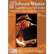 Cherry Lane Johnny Winter Legendary Licks Slide Guitar DVD