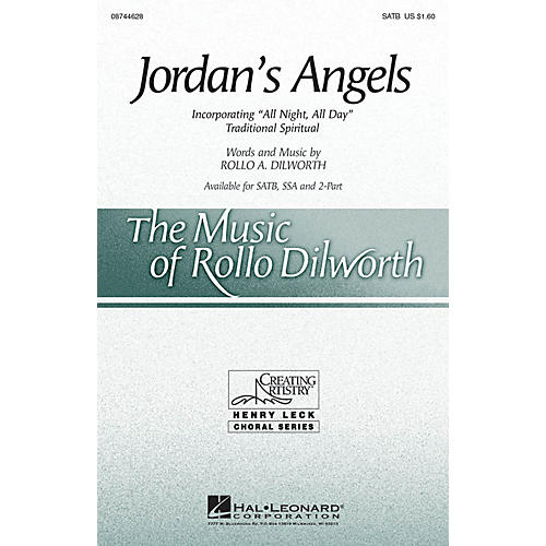 Hal Leonard Jordan's Angels SATB composed by Rollo Dilworth