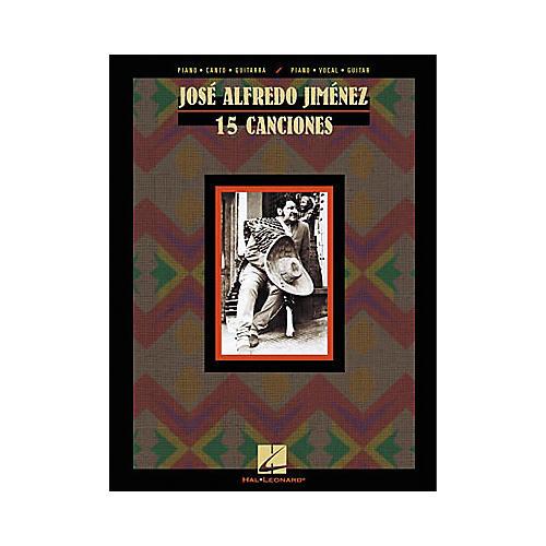 Hal Leonard Jose Alfredo Jimenez 15 Canciones Composer Collection ...