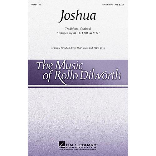 Hal Leonard Joshua SATB Divisi arranged by Rollo Dilworth
