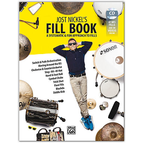 Alfred Jost Nickel's Fill Book, CD & Online Video