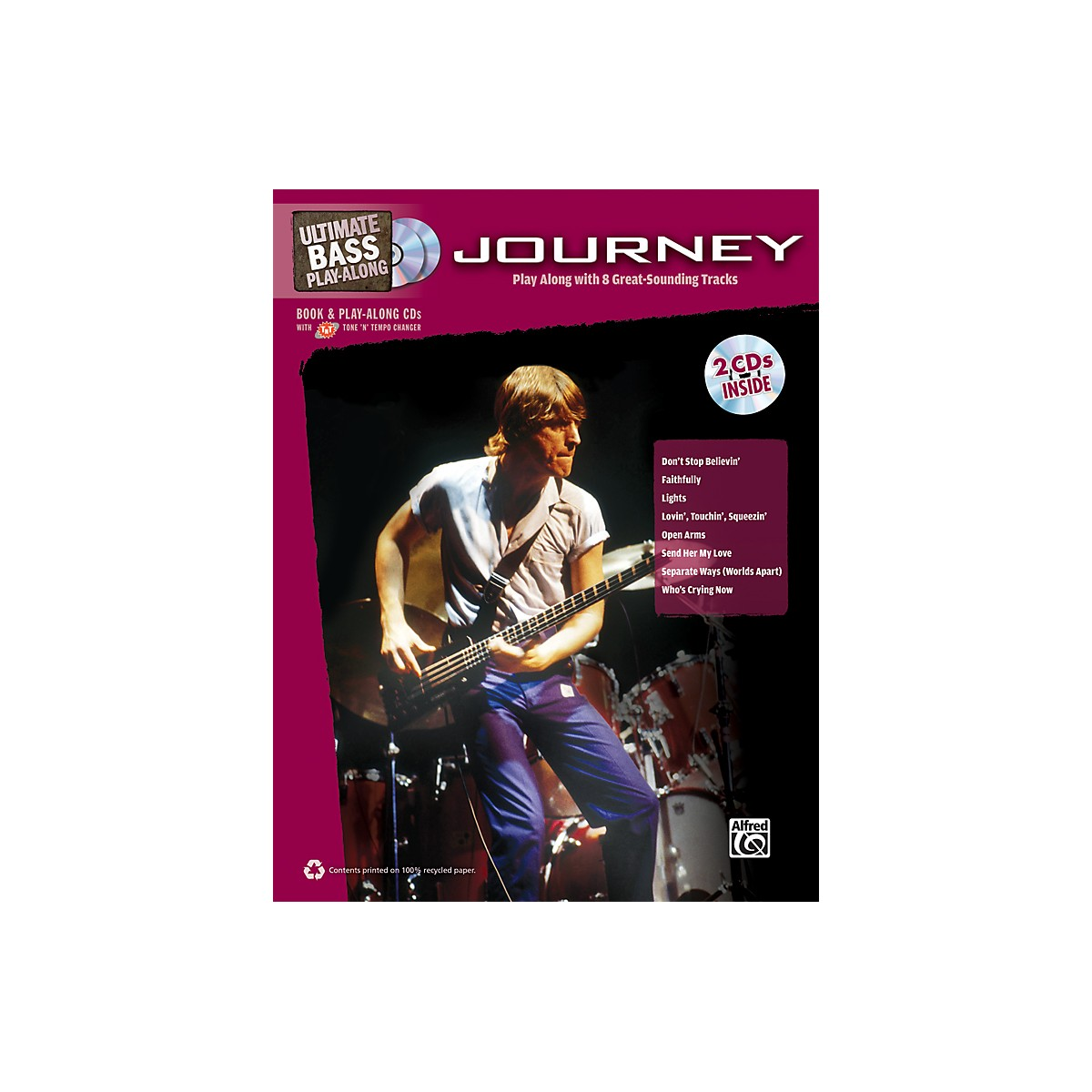 Alfred Journey - Ultimate Bass Play-Along Book & 2 CDs