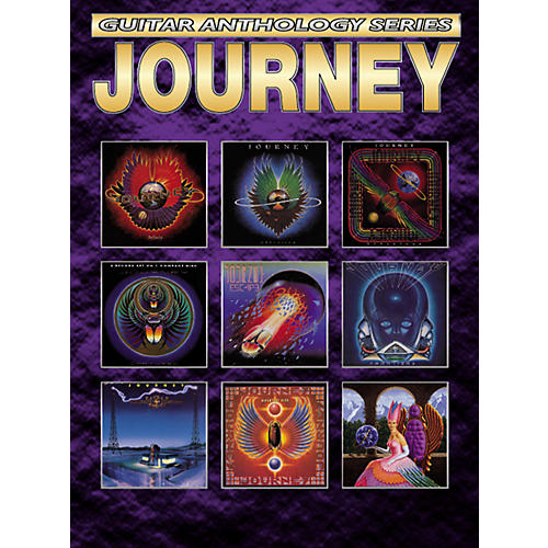 Alfred Journey Anthology Series Guitar Tab Book