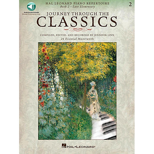 Hal Leonard Journey Through The Classics - Book 2 Late Elementary Book/Online Audio
