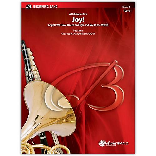 BELWIN Joy! A Holiday Fanfare Conductor Score 1 (Very Easy)