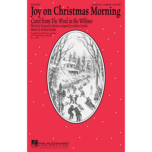 Hal Leonard Joy on Christmas Morning 3-PART MIXED, OPTIONAL ACAPPEL Composed by Audrey Snyder