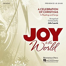 Brookfield Joy to the World (A Celebration of Christmas in Readings and Songs) PREV CD arranged by John Leavitt